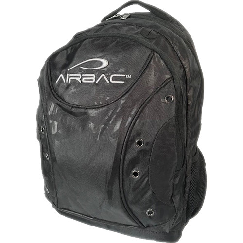 AirBac Technologies Air-Cushioned Padded Hiking Ring Backpack (Black)
