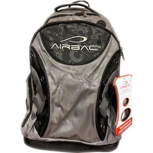 AirBac Technologies Air-Cushioned Padded Hiking Ring Backpack (Gray)
