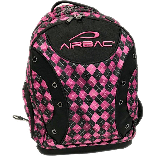 AirBac Technologies Air-Cushioned Padded Hiking Ring Backpack (Violet)