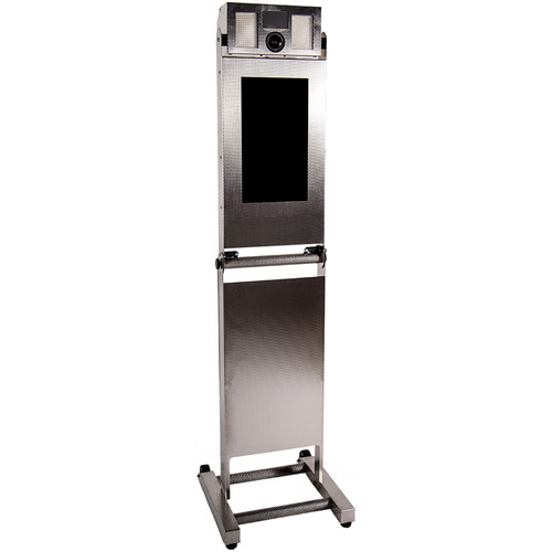 Airbooth Photo Booth Kiosk (Stainless Steel)