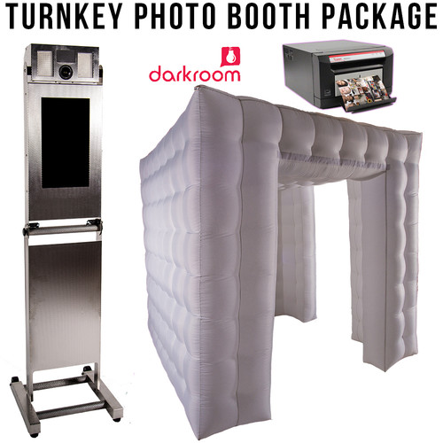 Airbooth Turnkey Photo Booth Package (Stainless Steel)