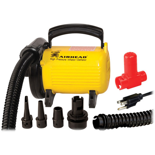 Airhead 120V Hi-Pressure Air Pump (Yellow)
