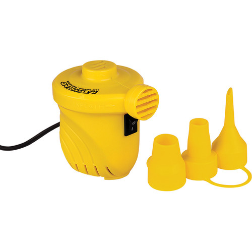 Airhead 12V High-Volume Portable Air Pump (Yellow)