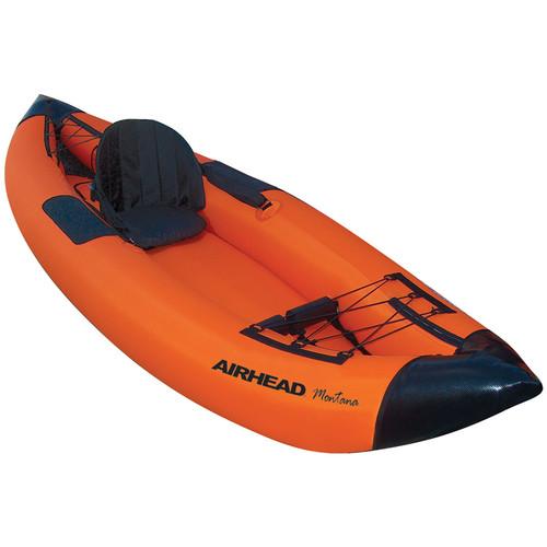 Airhead 1-Paddler Inflatable Performance Travel Kayak (Orange)