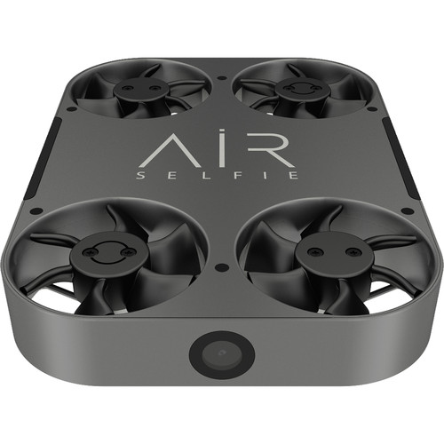 AirSelfie2 Portable Camera Drone with Leather Bag (Black)