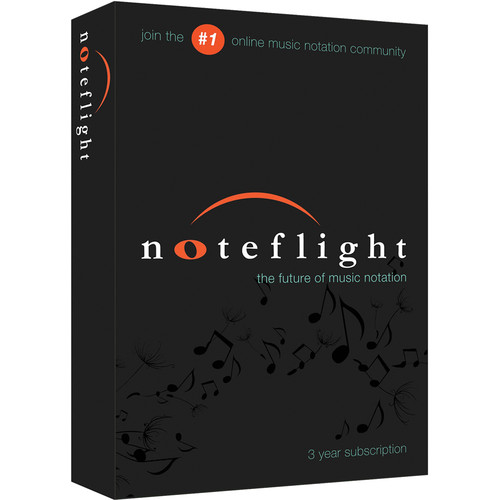 Noteflight Music Instruction 3-Year Subscription (Boxed)