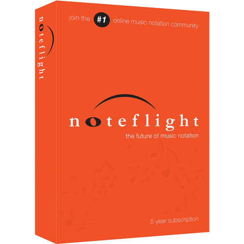 Noteflight Noteflight Music Instruction 5-Year Subscription (Boxed)
