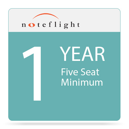 Noteflight Noteflight Music Instruction Classroom 1-Year Site License (5-Seat Minimum)