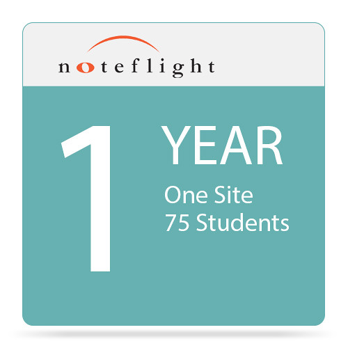 Noteflight Noteflight Music Instruction Studio 1-Year Site License (1 Site, 75 Students)