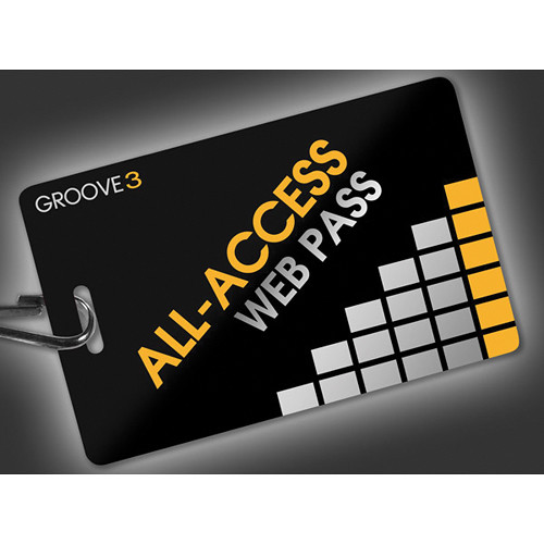 Groove 3 Groove3 All-Access Pass Subscription Card (1 Year)