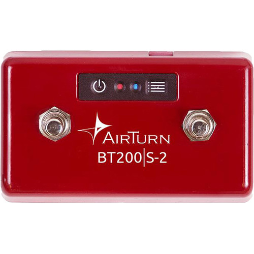 AirTurn BT-200S-2 Series  2-Switch Wireless Foot Controller