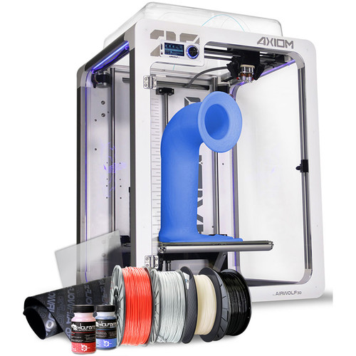 AIRWOLF Axiom-20 Dual Direct Drive 3D Printer All In One Bundle