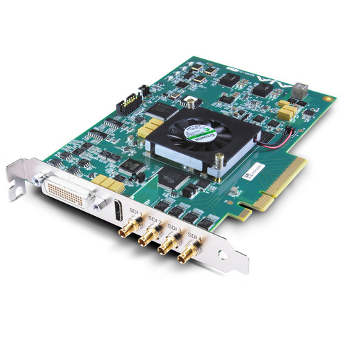 AJA KONA 4 PCI-E I/O Card and Assimilate SCRATCH Kit