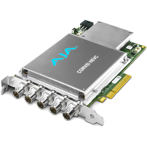 AJA Corvid 22 PCIe 4x Card for 8/10-bit Uncompressed with 2 Independent Channels I/O Digital 3G, HD, SD-