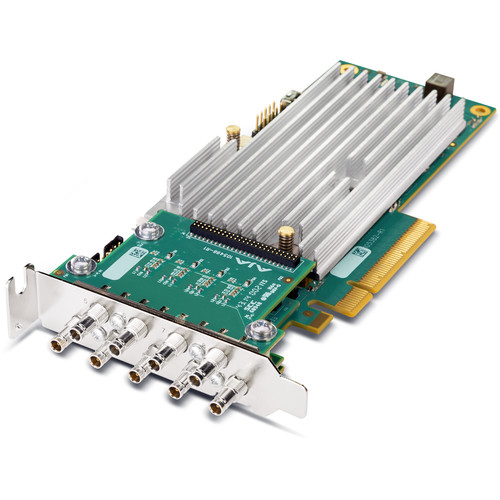 AJA Corvid 44 BNC Flexible Multi-Format I/O Card (Fanless)