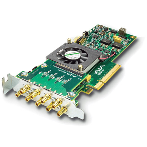 AJA Corvid 88 8-Channel 3G-SDI I/O Card with Fan