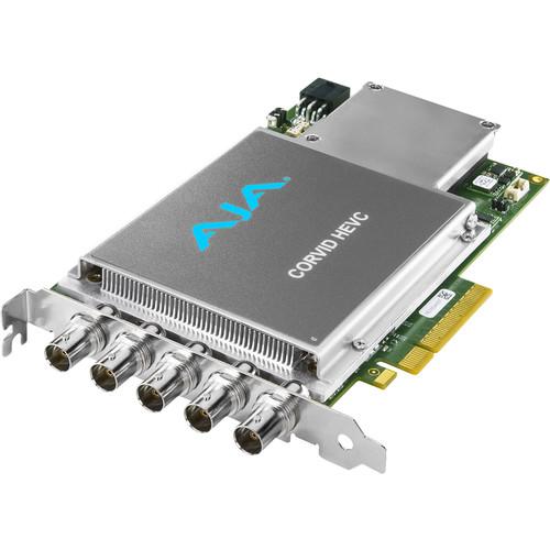 AJA HEVC Encoder Card - Slot Powered