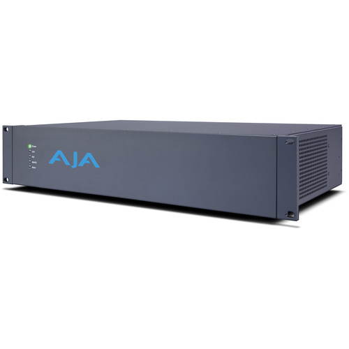 AJA Corvid Ultra External 2RU Chassis Video Processor with Two TruScale Cards