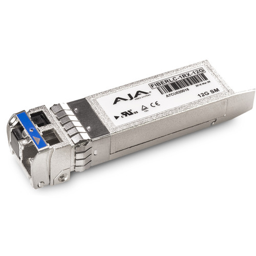 AJA 12G-SDI Single Fiber LC Receiver Single-Mode
