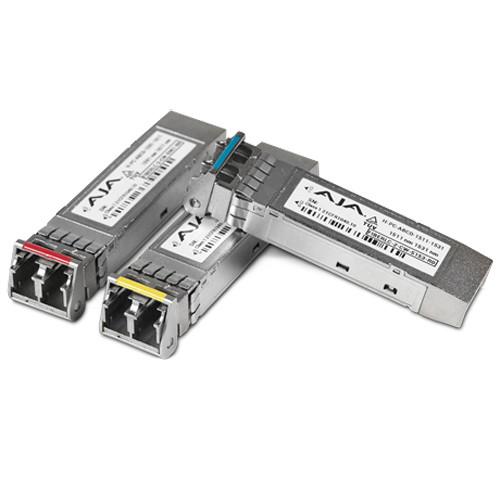 AJA 12G-SDI Single Fiber LC Transmitter Single-Mode for FS4