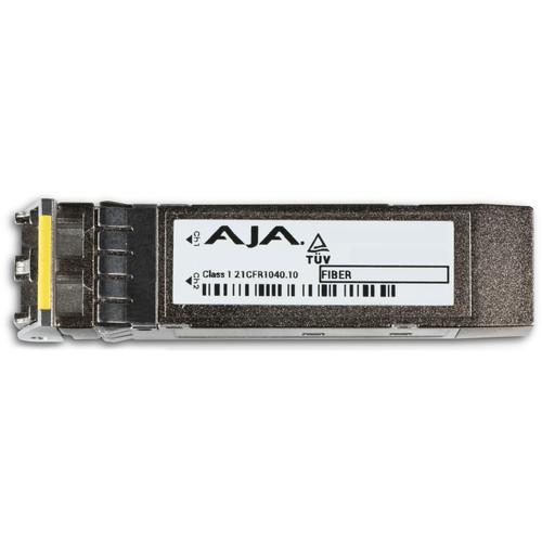 AJA 12G/6G-SDI Dual Fiber Single-Mode LC Receiver