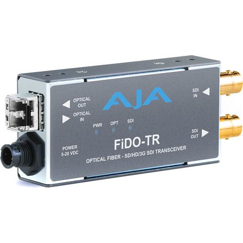 AJA 1-Channel 3G-SDI/LC Multi-Mode LC Fiber Transceiver