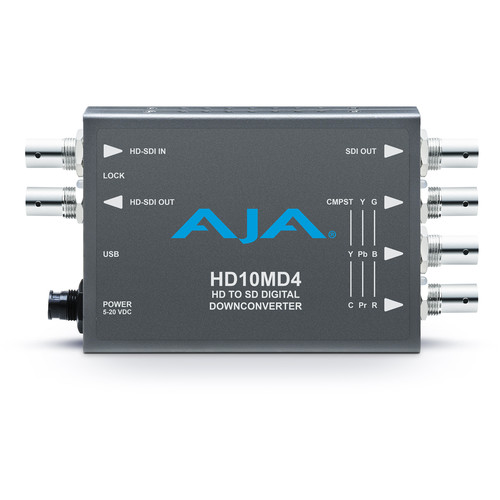 AJA HD-SDI to SD-SDI Digital and Analog Down-Converter
