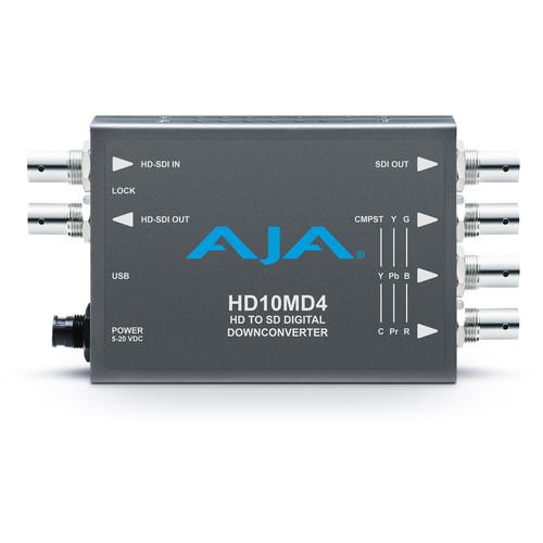 AJA HD-SDI to SD-SDI Digital and Analog Down-Converter