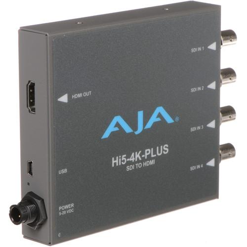 AJA Hi5-4K-Plus 3G-SDI to HDMI 2.0 Converter