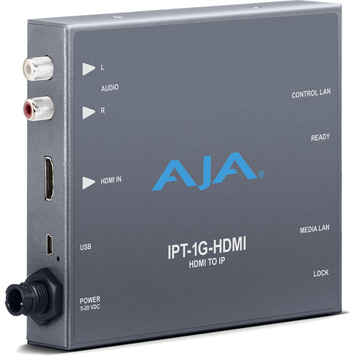 AJA HDMI Video and Audio to JPEG 2000 Converter