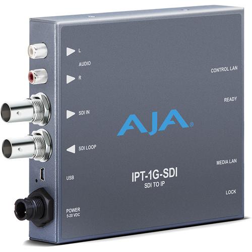 AJA 3G-SDI Video and Audio to JPEG 2000 Converter