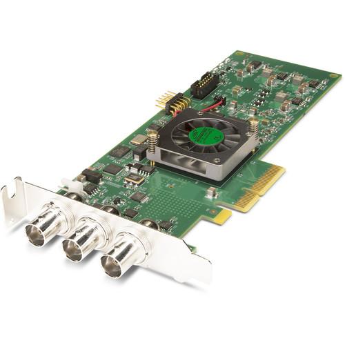 AJA Single Channel 3G/1.5G-SDI I/O Short Rs422 PCIE 2.0 Card