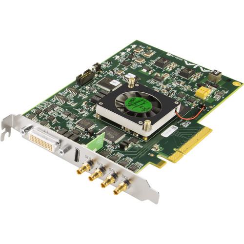 AJA 4K/2K/3G/Dual Link/HD/SD 10-Bit PCIE Card, HDMI 1.4A Output(Bracket,Bob,3 Cables etc.)