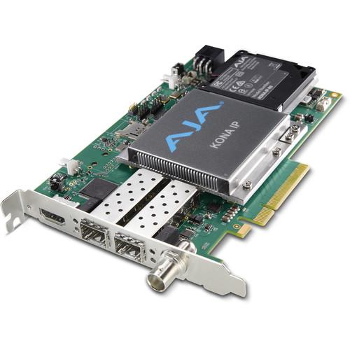 AJA KONA IP PCIe Audio/Video I/O Card