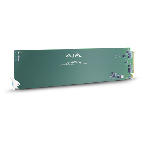AJA openGear 1 x 9 3G-SDI Re-Clocking Distribution Amplifier