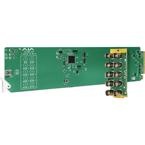 AJA OG-1x9-SDI-DA 3G-SDI Distribution Amplifier Card