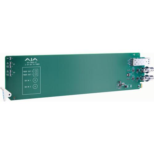 AJA openGear Two-Channel 3G-SDI to Fiber Converter