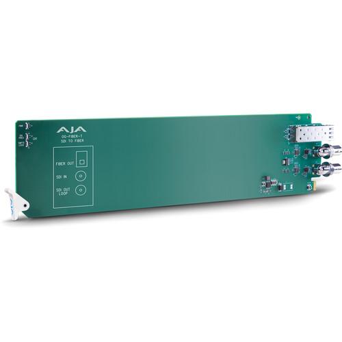 AJA openGear 1-Channel SDI to Fiber Converter