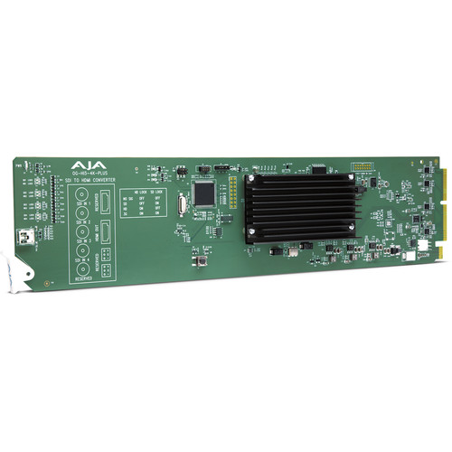AJA 3G-SDI to HDMI 2.0 Conversion Card with DashBoard Support