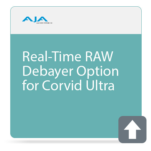 AJA Real-Time RAW Debayer Option for Corvid Ultra