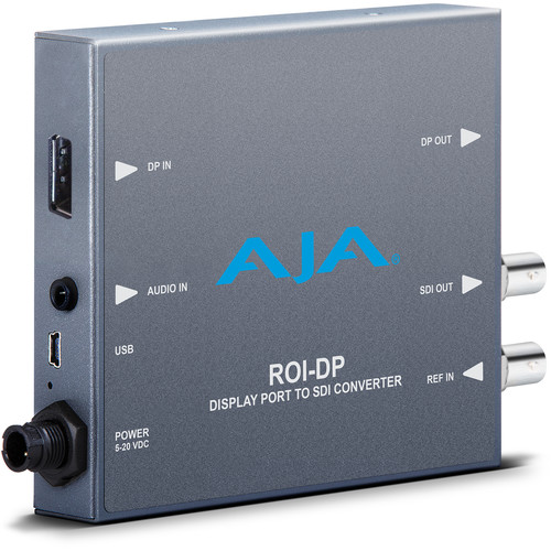 AJA DisplayPort to SDI Mini-Converter with ROI Scaling