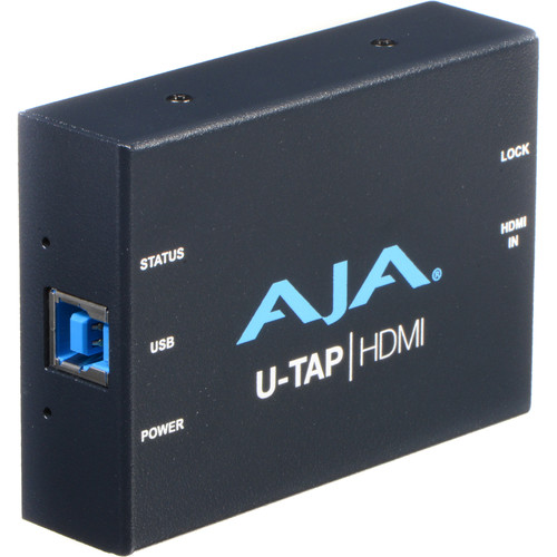 AJA U-TAP USB 3.1 Gen 1 Powered HDMI Capture Device