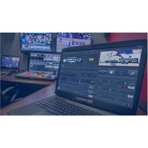 AJT SYSTEMS Additional SportApp for Livebook GFX