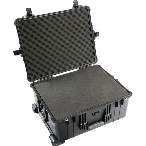 AJT SYSTEMS Pelican 1610 Shipping Case with Custom Foam for Livebook GFX LE Laptop