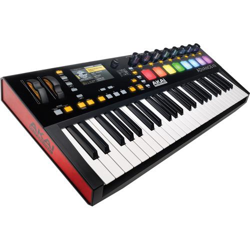 Akai Professional Advance 49- 49-Key MIDI Keyboard Controller