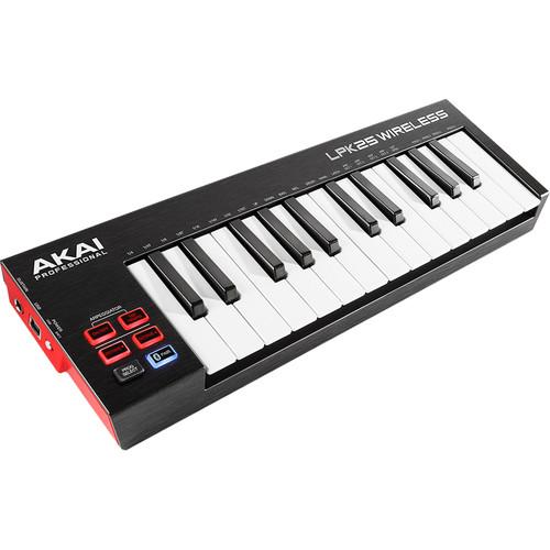 Akai Professional LPK25 Wireless - USB-MIDI Controller with Bluetooth