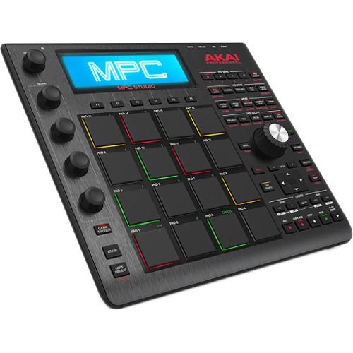 Akai Professional MPC Studio Music Production Controller (Black)