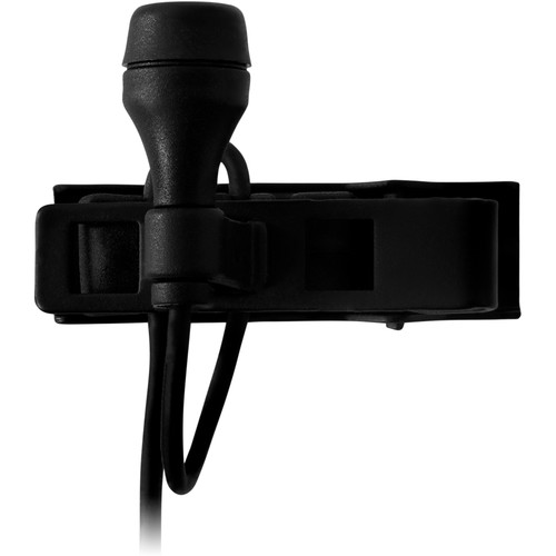 AKG LC617 MD Lapel Microphone with Tie Clip (Black)