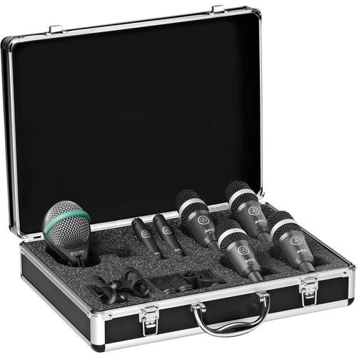 AKG Drum Set Concert 1 Professional Drum Microphone Set