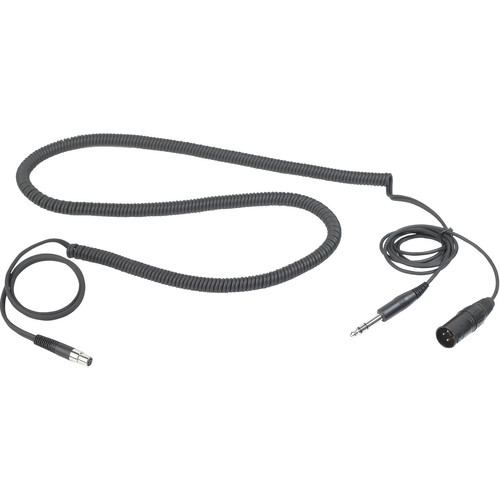 "AKG MK HS STUDIO D Headset Cable for Studio and Moderators with 3-Pin XLR + 1/4"" Stereo Connectors"
